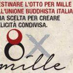 Dona il tuo 8x1000 all'Unione Buddhisti Italiana